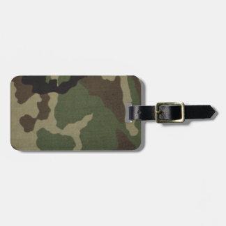 Army Camo Bag Tags