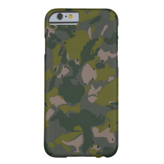 Army Camo: Military camouflage for combat soldier Barely There iPhone 6 Case