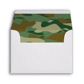Army camo military camouflage liner envelopes