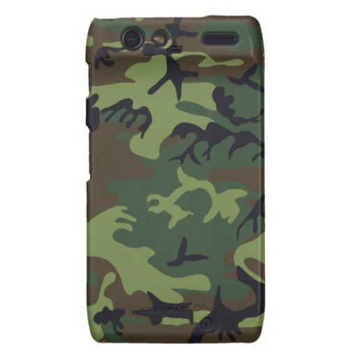 Army Camo Motorola Droid RAZR Case