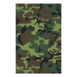 Army Camo Personalized Stationery