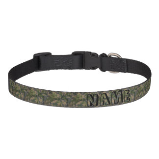 Army Camo Pet Collar