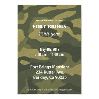 Army Camoflauge Cards