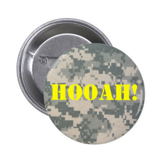 Army Camouflage ACU Pattern 2 Inch Round Button