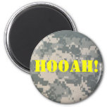 Army Camouflage ACU Pattern 2 Inch Round Magnet