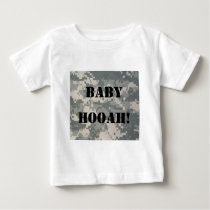 Army Camouflage ACU Pattern Baby T-Shirt