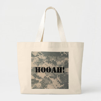 Army Camouflage ACU Pattern Large Tote Bag