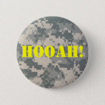 Army Camouflage ACU Pattern Pinback Button