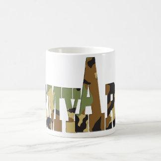 Army camouflage coffee mug
