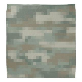 Army camouflage design bandana | Pixel camo