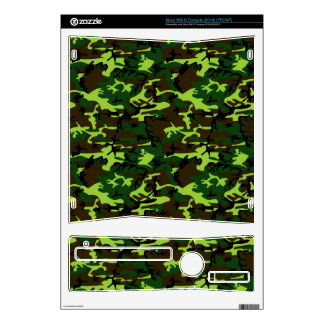 Army Camouflage in Jungle Green ~ Xbox 360 S Decal