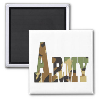 Army camouflage magnet