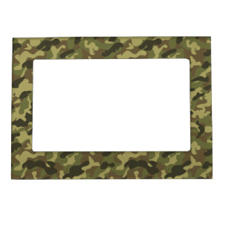 Army Camouflage Magnetic Picture Frame