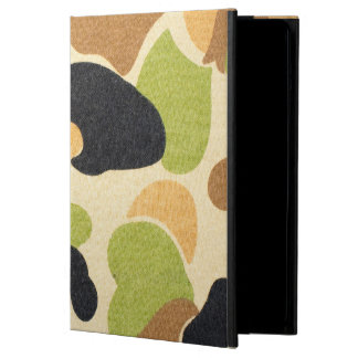 Army Camouflage Pattern Case For iPad Air