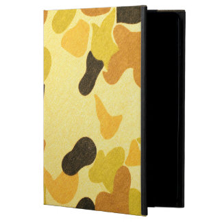 Army Camouflage Pattern iPad Air Covers
