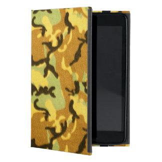 Army Camouflage Pattern iPad Mini Case