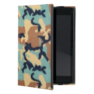 Army Camouflage Pattern iPad Mini Cover