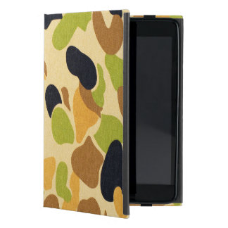 Army Camouflage Pattern iPad Mini Covers