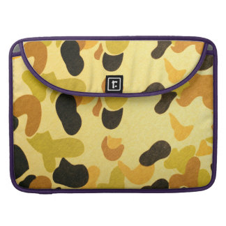 Army Camouflage Pattern MacBook Pro Sleeve