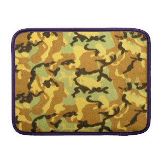 Army Camouflage Pattern MacBook Sleeve