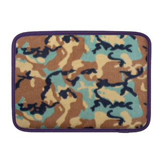 Army Camouflage Pattern MacBook Sleeves
