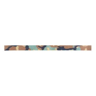 Army Camouflage Pattern Satin Ribbon