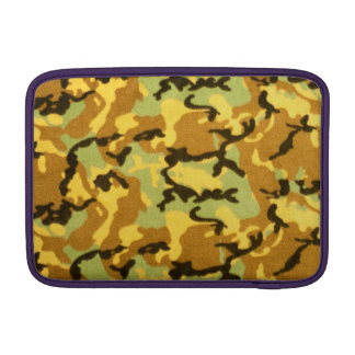 Army Camouflage Pattern Sleeve For MacBook Air