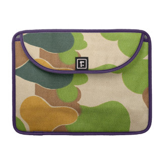 Army Camouflage Pattern Sleeve For MacBook Pro