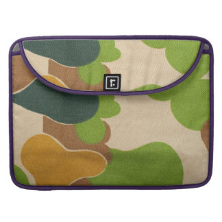 Army Camouflage Pattern Sleeve For MacBooks
