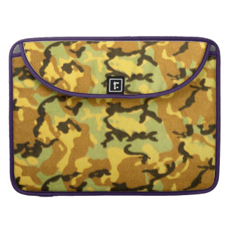 Army Camouflage Pattern Sleeves For MacBook Pro