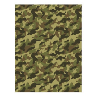 Army Camouflage Postcard