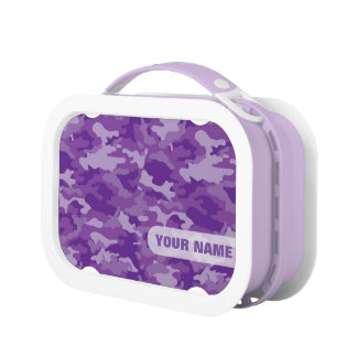 Army Camouflage (Purple Color) Lunch Box