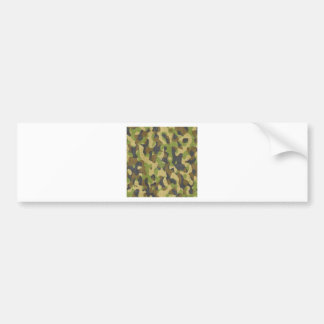 Army Camouflage Textile Pattern Gift Bumper Stickers