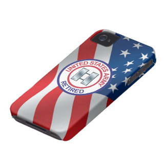 Army Captain Retired Case-Mate iPhone 4 Case