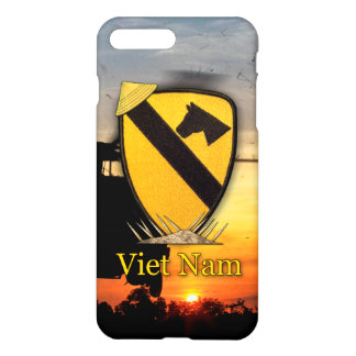 Army cavalry vietnam nam war veterans vets iPhone 8 plus/7 plus case