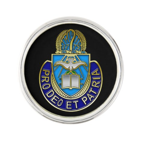 Army Chaplain Corp Crest Round Lapel Pin