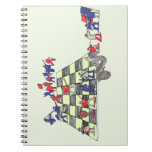 Army Chess Spiral Notebook