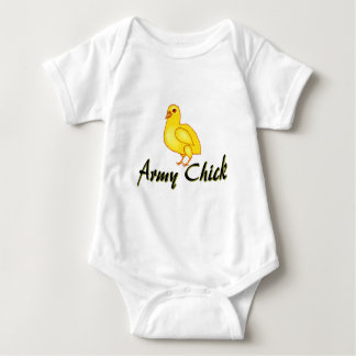 Army Chick Baby Bodysuit