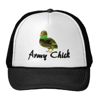 Army Chick Trucker Hat