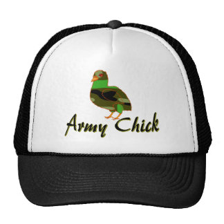 Army Chick Mesh Hat