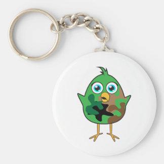 Army Chick Keychain