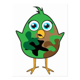 Army Chick Postcard