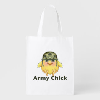 Army Chicks Market Totes