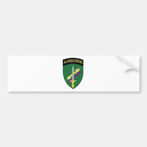 Army Civil Affairs and Psychological Operations Co Car Bumper Sticker