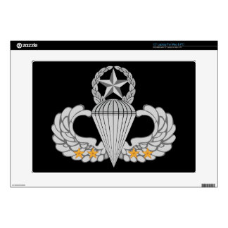 Army Combat Four jump Wings Skins For Laptops