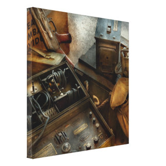 Army - Combat ready Gallery Wrapped Canvas