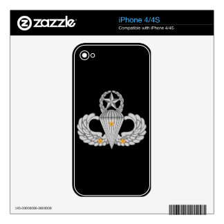 Army Combat Three jump Wings iPhone 4S Decal