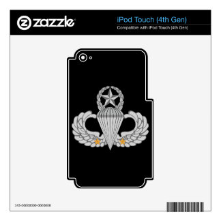 Army Combat Two jump Wings Skins For iPod Touch 4G