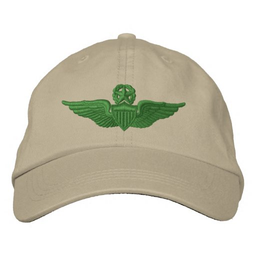 Army Command Pilot Embroidered Baseball Hat
