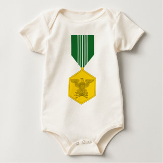 Army Commendation Medal Baby Creeper